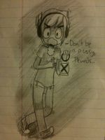 {doodle admin did at school} by Itsthe-BARRELS-fault