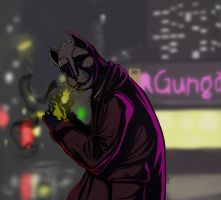 Cat-Gunga by Matu222