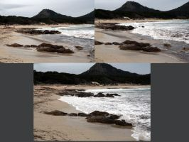 Stormy Beach Pack by neverFading-stock