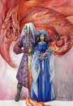 Rhaegar and Lyanna by DalfaArt