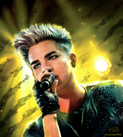 Adam Lambert - Feel the atmosphere by lucasthefierce
