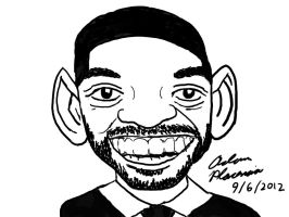 Will Smith Caricature by A-Dawg13