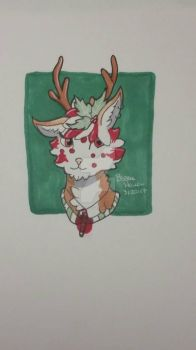 Headshot Reindeer Auction (SB 1 point) by bubblehollow