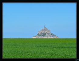 Mont Saint-Michel - 1 by J-Y-M