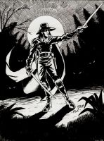 Solomon Kane Moonlit by MilkManX