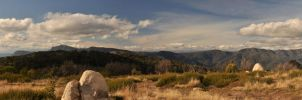 View From Behind Craigs Hut by djzontheball