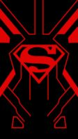 Superboy iPhone 5 Wallpaper by IzLacson