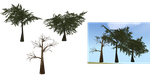 MOSS'S TREE/FOREST MESH PACK 2. by Mossasaurus