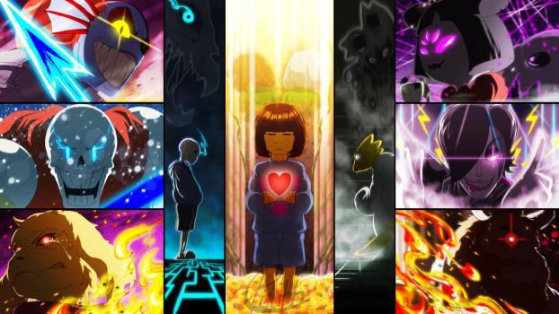 Happy (Belated) Anniversary/Birthday UNDERTALE!! by Pdubbsquared