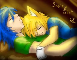 Sonic and Tails by KrazyELF33