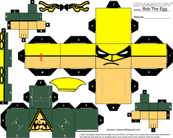 Iron Fist Cubee Open Shirt by BobTheEgg