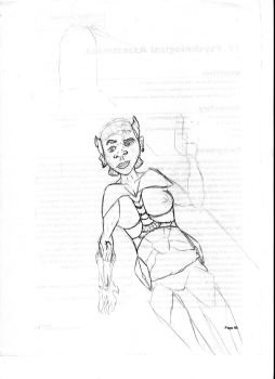 Rae: Rogue Authority Edit 1 by davids-sketchbook