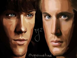 supernatural wallpaper by MissHeroes94