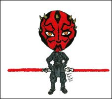 Darth Maul speed drawing by levictus