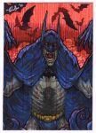 Batman -Crimson Mist- PSC by silentsketcher