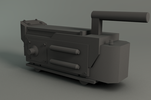 WIP - Ghostbusters Trap by alexvandrie