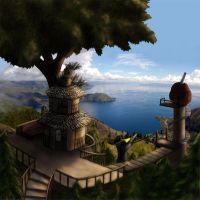 Toba Treehouse by whiteguardian