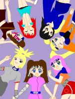 Naruto-Circle of Friends by LittleAlyce