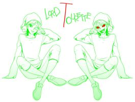 Dick Figures: lord tourette by Quere