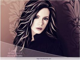 Kate Beckinsale. by davidnanchin