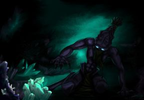 Atargatis - The Cave by blue-but-beautiful