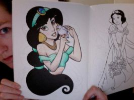 Disney Coloring Book 5 by Element-of-Air