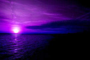 Coast ignite purple light by Spunkii