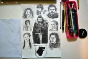 Stark Family by Gigi-Avila