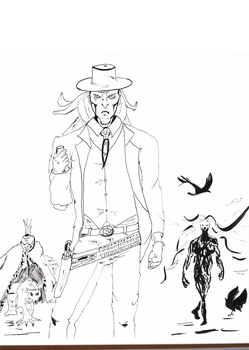 Death Sketch - East of West by mwehner