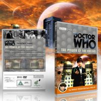 The Power of the Daleks Region 2 DVD Cover Preview by DJToad