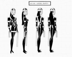Lashina Model Sheet by Nes44Nes