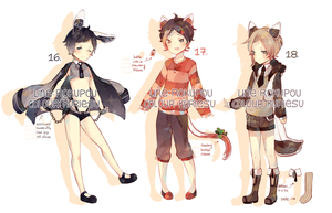 COLLAB Floatsu Auction 16-18 CLOSED by rokupou