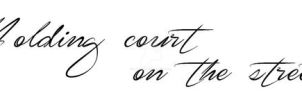 Tattoo Design - 'The Town' Quote by LJ-Todd