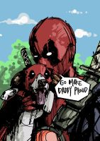 Deadpool's Protege by conorsully