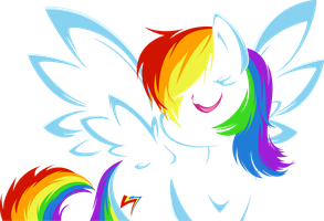 Dash of Rainbow Vector by Fehlung