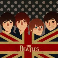 The Beatles by Ayaselandia