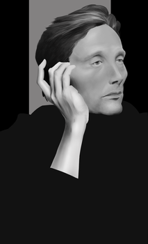 Mads Study by lonestarlings