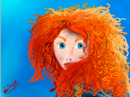 Merida :D by TheHomicidalPigeon