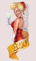 Happy New Year 2010 by Elias-Chatzoudis