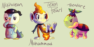 Team Pearl by MusicalCombusken