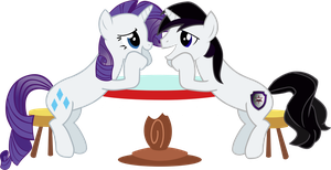 Vector Barr and Rari love dovey by Barrfind