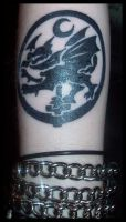 Cradle Of Filth Tattoo by Z-V. by Body-Mods-Club