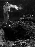 own grave by JonathanMH