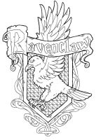 Ravenclaw Crest by Redundantthoughts