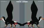 Toucan Dragon AUCTION: Closed by lambomill