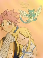 Natsu x lucy by Ember-Flame007