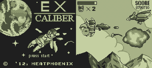 GameBoy Palette Experiment - Ex-Caliber by HeatPhoenix
