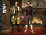 Edmund And Jasper Tudor by CookieCat45