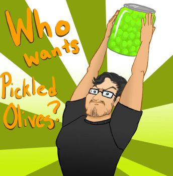 Pickled Olives for Markiplier by waterwriter144