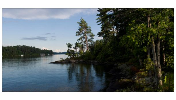 TEMAGAMI - Camp on the Point by AKRadish